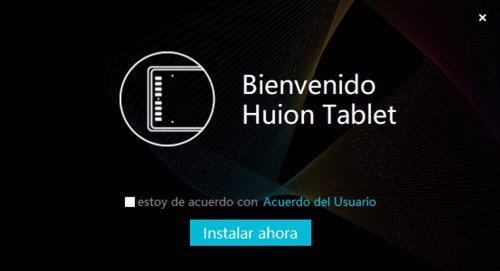 Instalación del controlador HUION en Windows