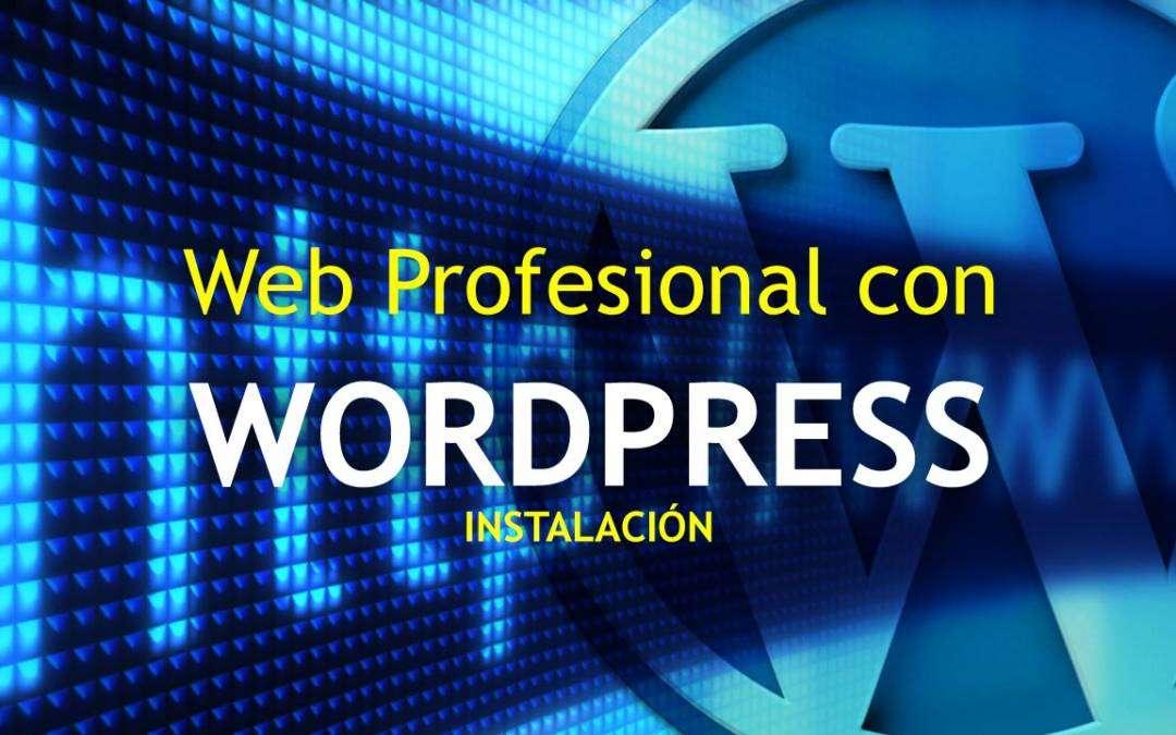 Cómo hacer una web profesional – 1