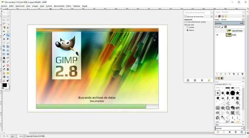 software gratuito gimp 2.8