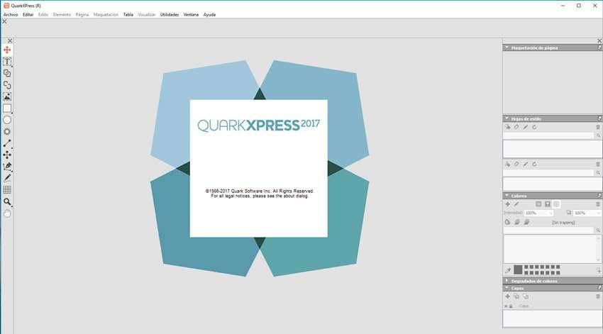 Software quarkXPress 2017