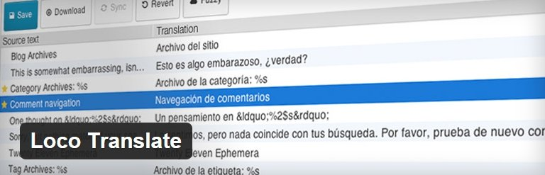 cambiar los textos de los temas con loco translate