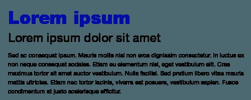 jerarquia tipografia. tipografía adecuada