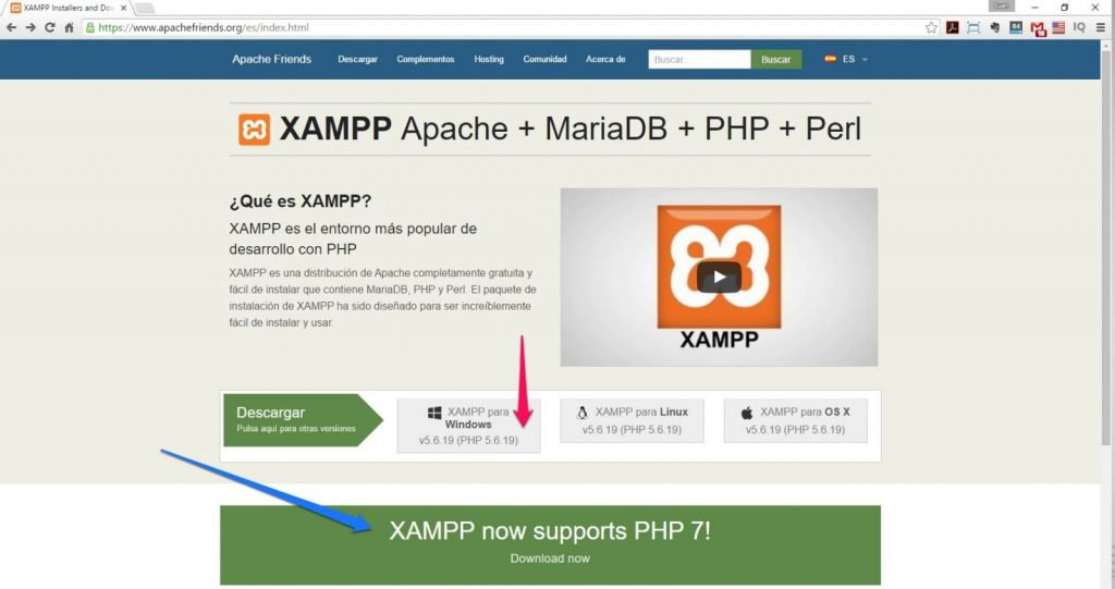 xampp y windows 10 jsolucioncreativa