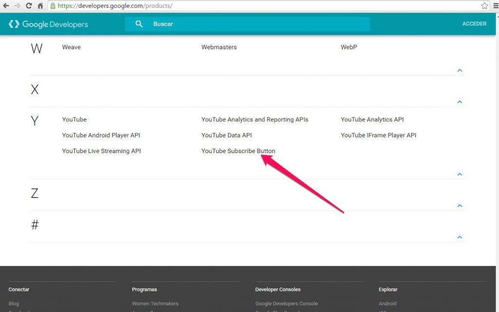 botón de suscripción de Youtube subcribe