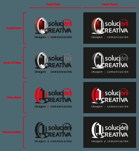 cromatismo en el logotipo