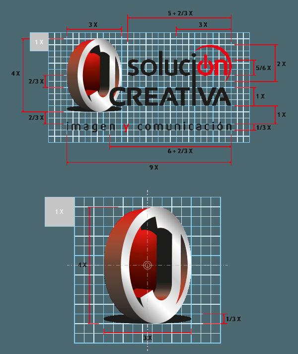 el logotipo y sus proporciones