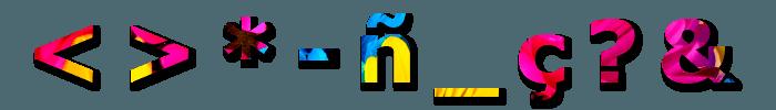 nombre de dominio caracteres