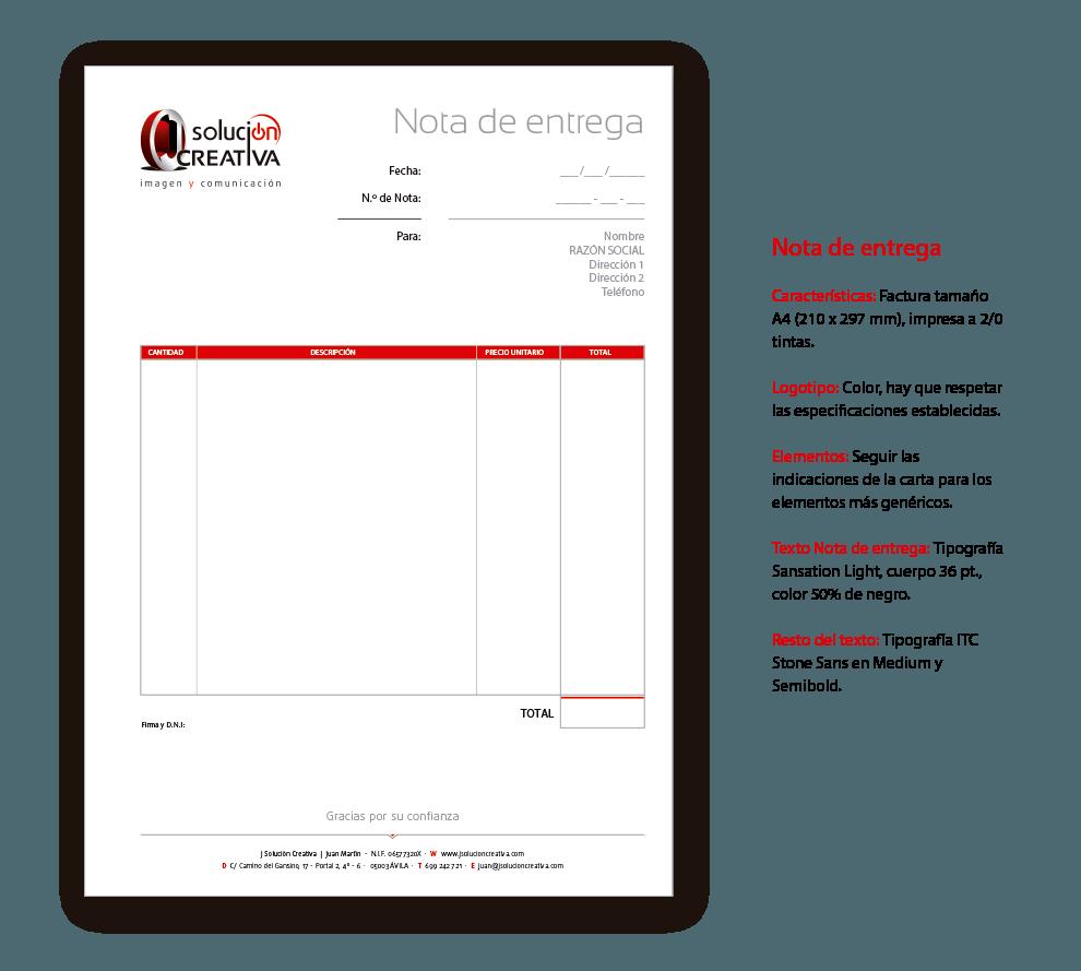 papeleria complementaria nota