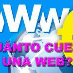 Tener una web ¿cuánto cuesta?
