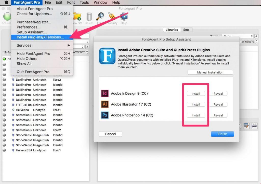 tipografias en mac FontAgent_Pro 3