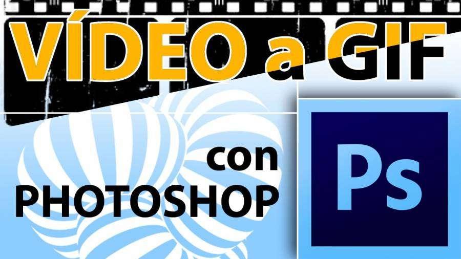 Convertir vídeo a gif en 3 pasos con Photoshop