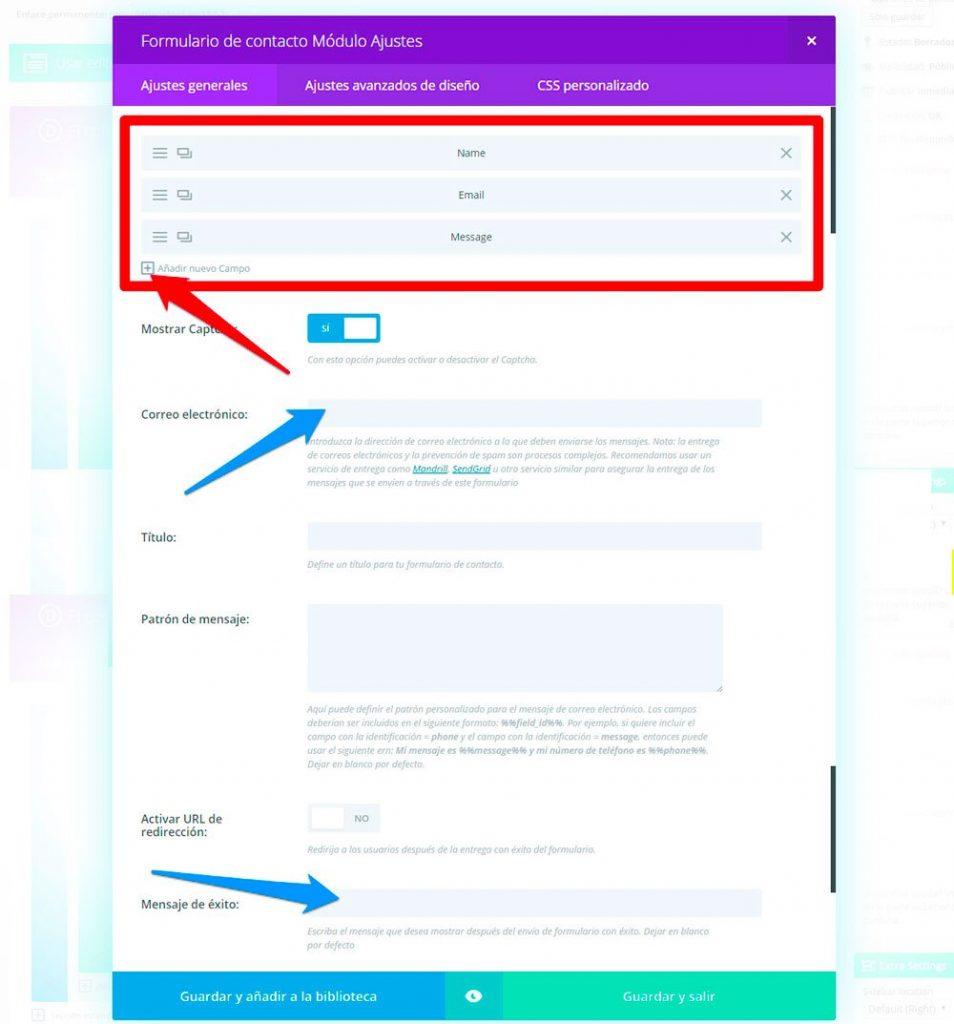 Cómo crear un formulario en DIVI y EXTRA - J Solución Creativa
