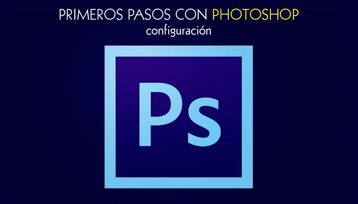 Configuración de Photoshop cabecera