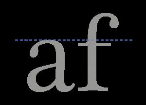 fuente tipográfica_altura_x