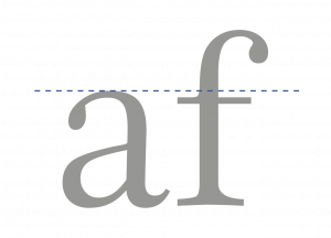 tipográfica_altura_x