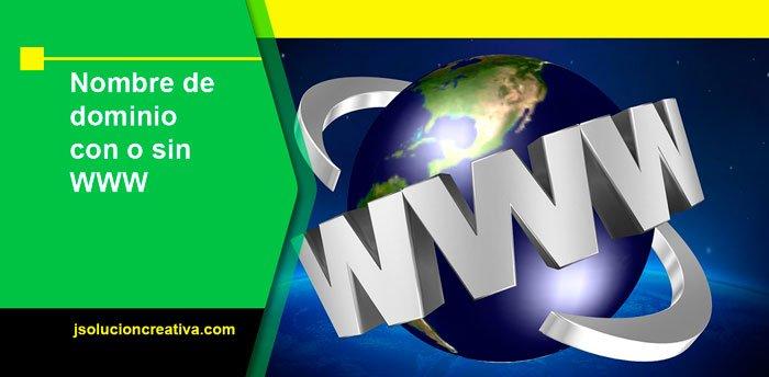 dominio con o sin www