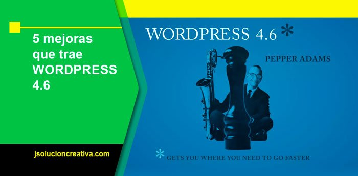 wordpress 4.6 pepper