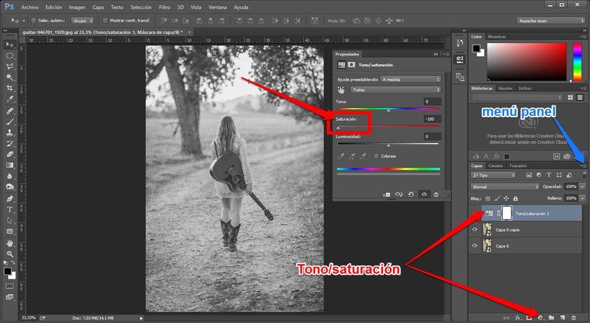 Convertir una imagen en un dibujo a lápiz 1