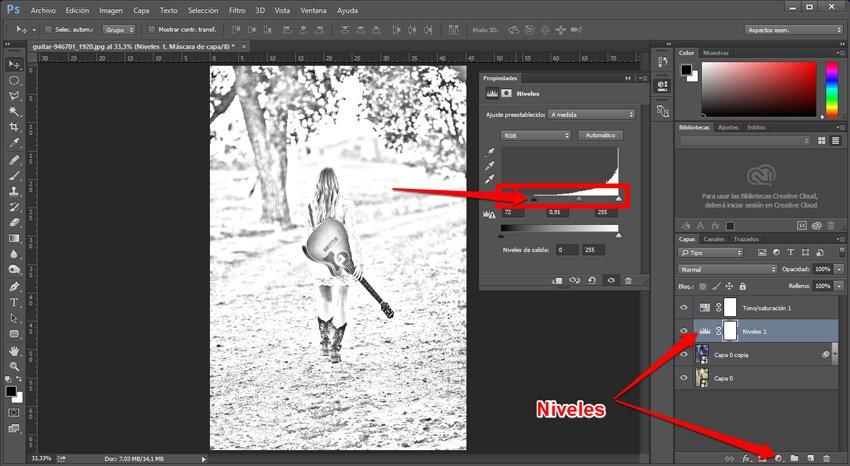 Convertir una imagen en un dibujo a lápiz 3