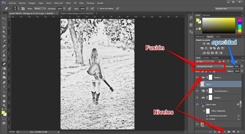 fotografía a dibujo a lápiz 4