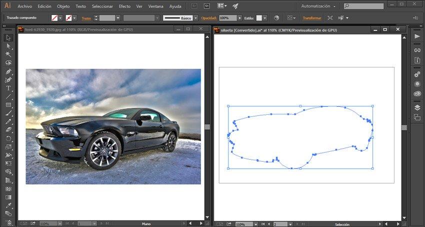 Exportar trazado de photoshop. Illustrator abrir archivos