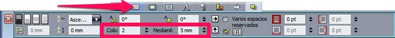 Maqueta en QuarkXPress. Cajas de texto 2