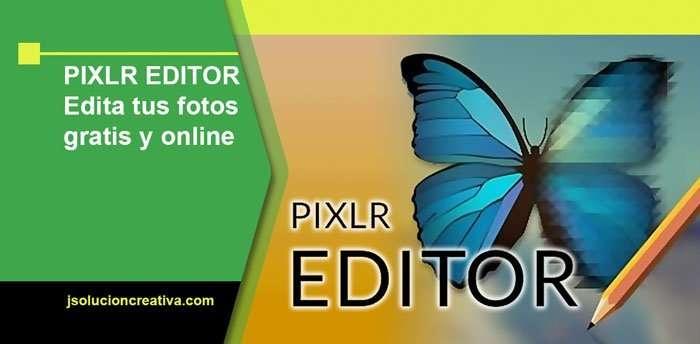 Editor gráfico y gratuito Pixlr Editor