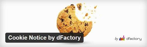 Aviso de cookies. Plugin de cookies