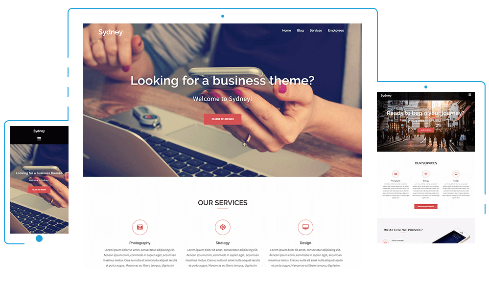 tema sydney de wordpress