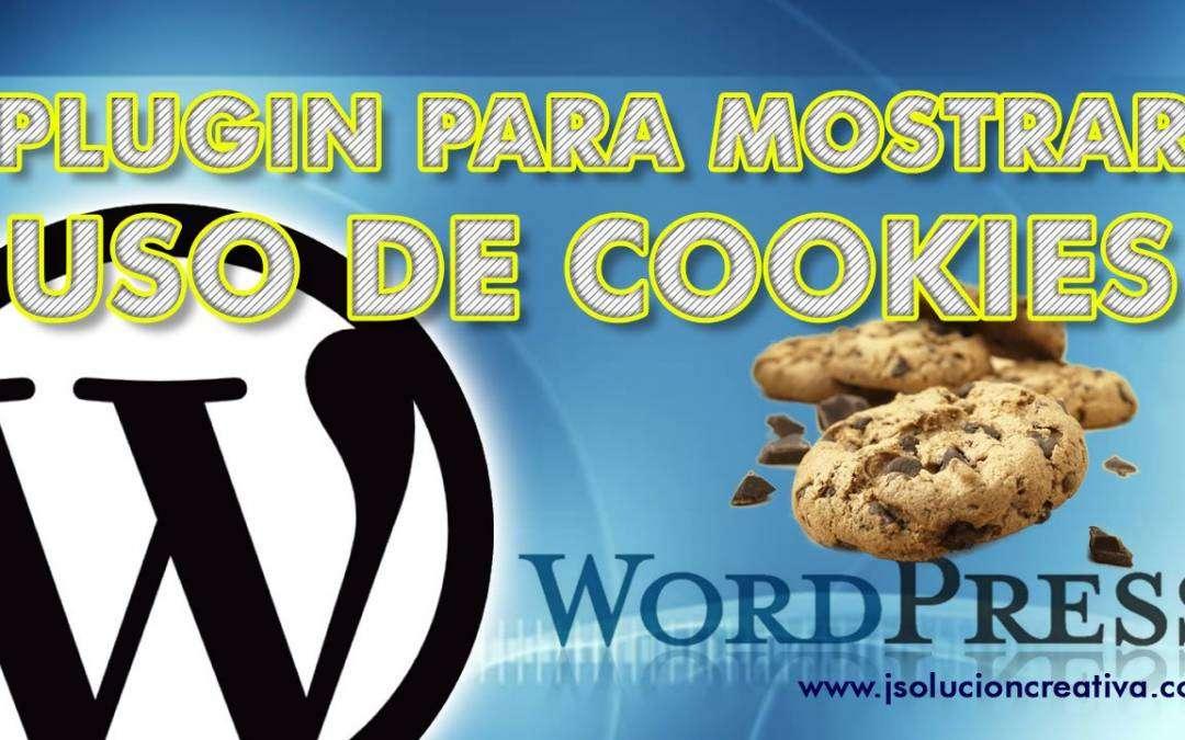 Configurar el aviso de cookies en WordPress