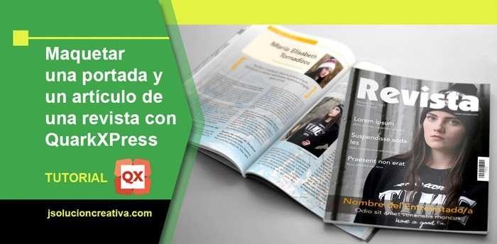 maquetar una revista en QuarkXPress