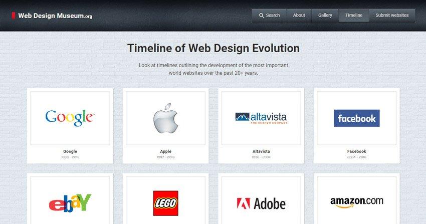 Retrospectiva Museo del Diseño Web
