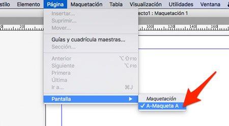 editar la maqueta para paginar en quarkxpress