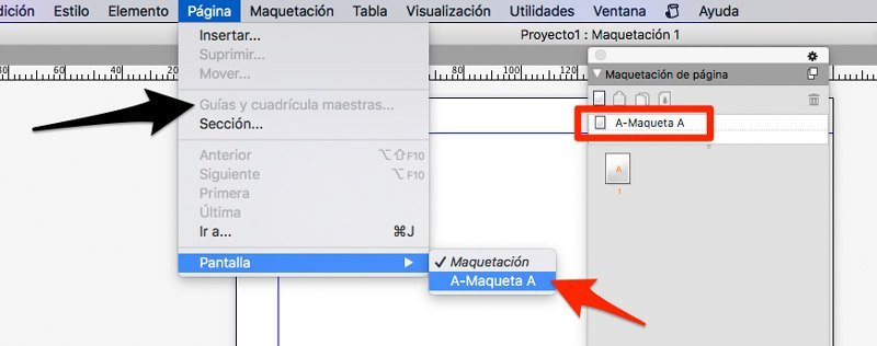 activar margenes en quarkxpress
