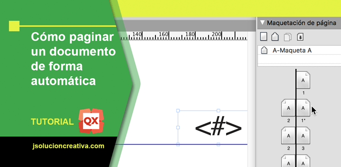 Cómo paginar en QuarkXPress un documento