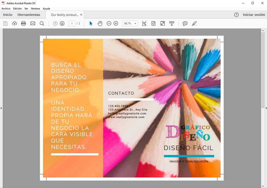 folleto en canva para imprimir