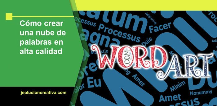 Crear y descargar nube de palabras en alta resolución