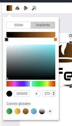 colores DESIGNEVO crear logo gratis