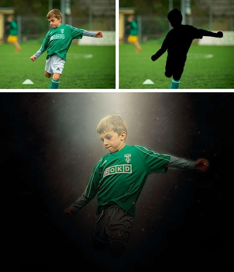 fantasy photo action boy