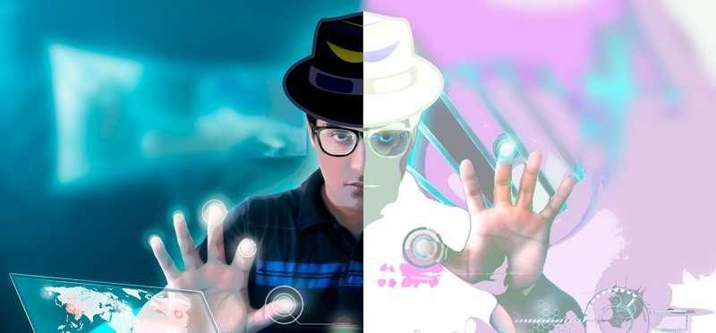 hackear facebook e instagram. Black Hat y White Hat