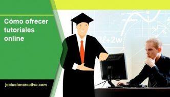 Ofrecer tutoriales online