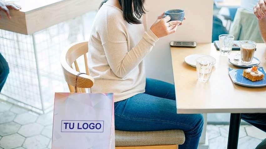 bolsa de papel para publicidad