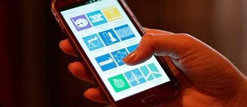 Aplicaciones web en el teléfono