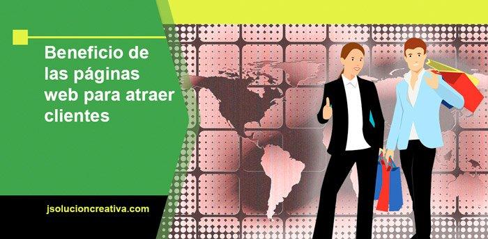 Tener una página web para atraer clientes