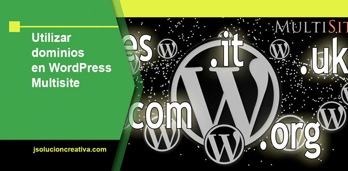 Dominios en multisitio de WordPress