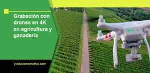 Grabación con drones