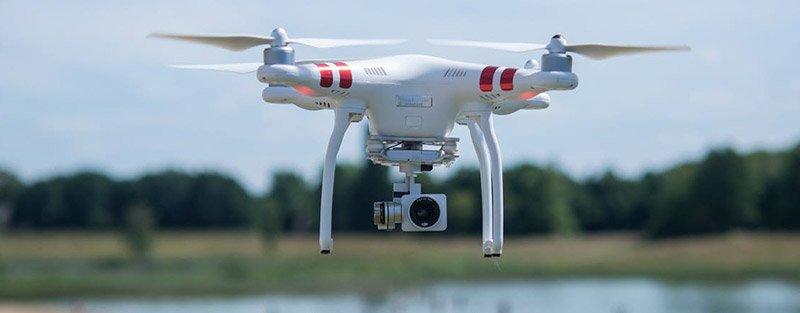 Grabar con dron Phantom