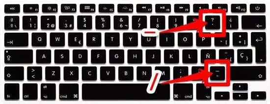 Teclado Mac en español