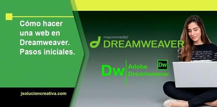 Cómo hacer una web en Dreamweaver. Principios básicos