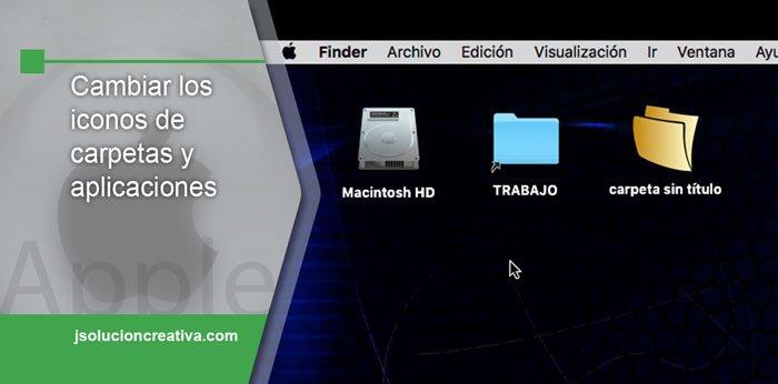 Cambiar los iconos en Mac